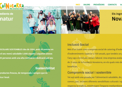 Cuinaterra: la empresa social fruto de la alianza de dos empresas