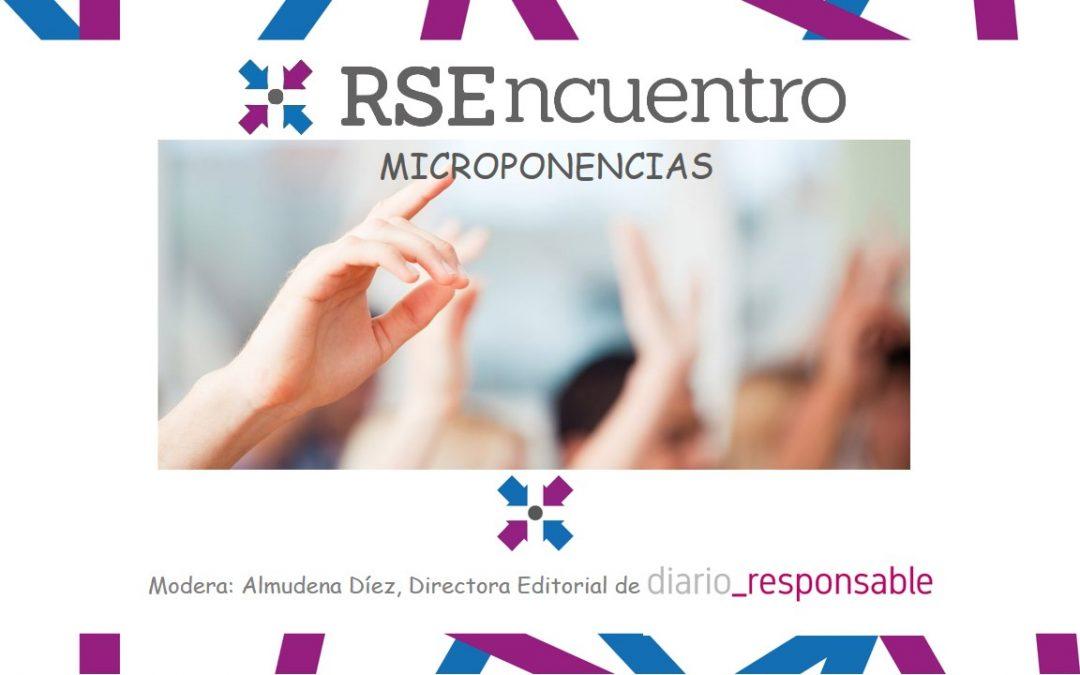 Presentaciones microponencias VI RSEncuentro